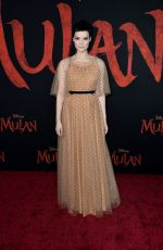 JAIMIE ALEXANDER at Mulan Premiere in Hollywood 03/09/2020
