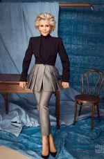 JANE FONDA in Elle Magazine, April 2020