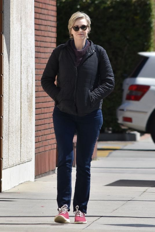 JANE LYNCH Out and About in Los Angeles 03/26/2020