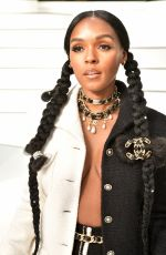 JANELLE MONAE at Chanel Fashion Show at PFW in Paris 03/03/2020