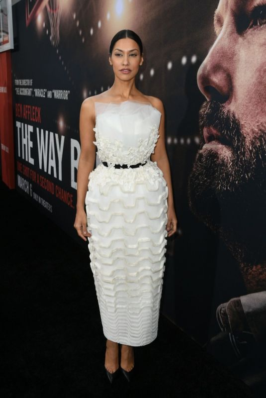 JANINA GAVANKAR at The Way Back Premiere in Los Angeles 03/01/2020