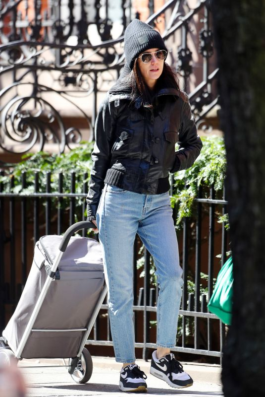 JENNIFER CONNELLY Out and About in New York 03/10/2020