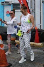 JENNIFER LOPEZ Leaves a Gym in Miami 03/02/2020