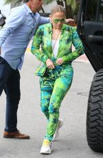 JENNIFER LOPEZ Out for Brunch in Miami 03/01/2020