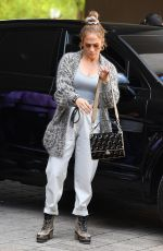 JENNIFER LOPEZ Out for Lunch in Miami 03/07/2020