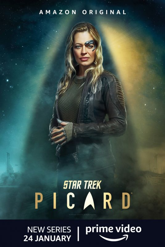 JERI RYAN - Star Trek Picard, Season 1 Poster