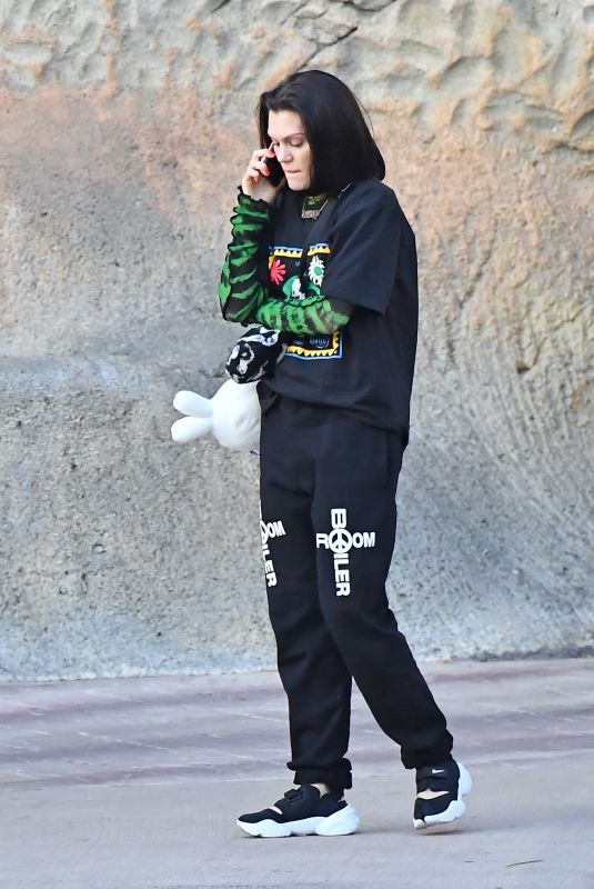 JESSIE J at Six Flags Magic Mountain in Los Angeles 02/26/2020