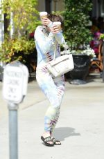 JOEY KING Out for Coffee in Studio City 03/07/2020
