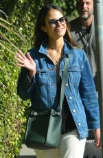 JORDANA BREWSTER Out and About in Brentwood 03/26/2020