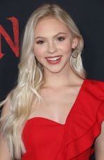 JORDYN JONES at Mulan Premiere in Hollywood 03/09/2020