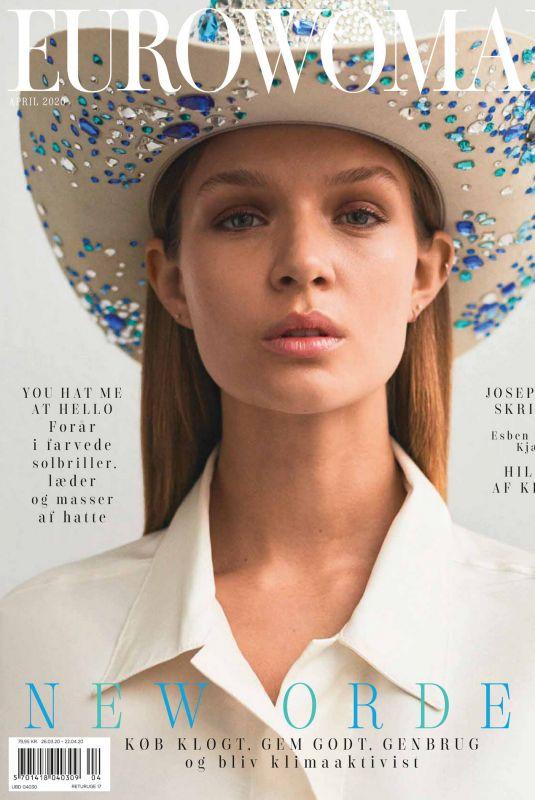 JOSEPHINE SKRIVER in Eurowoman Magazine, April 2020