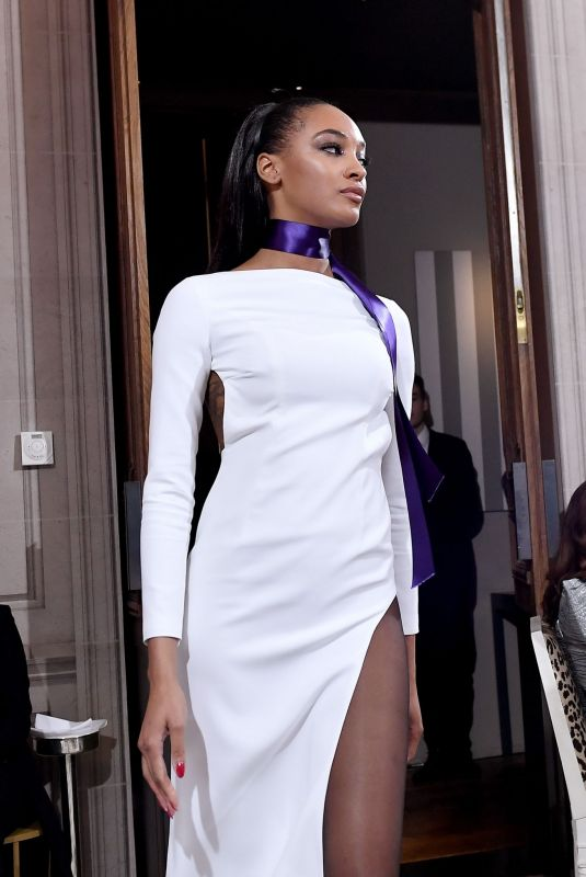 JOURDAN DUNN at Monot Runway Show at Paris Fashion Week 02/29/2020