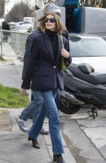 KAIA GERBER Leaves Chanel Fashion Show in Paris 03/03/2020