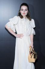 KAITLYN DEVER at Louis Vuitton Show at Paris Fashion Week 03/03/2020