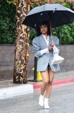 KAT GRAHAM Leaves Petit Ermitage Hotel in West Hollywood 03/13/2020