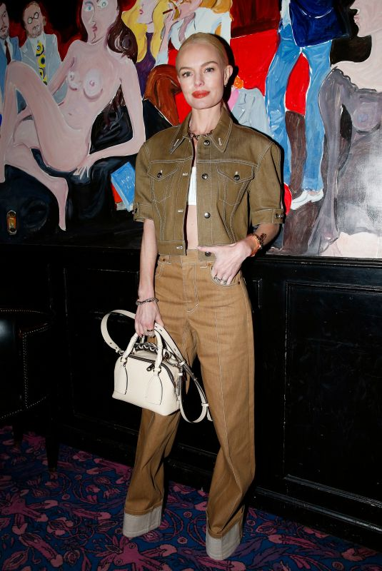 KATE BOSWORTH at Chloe Dinner at Paris Fashion Week 02/27/2020