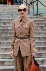 KATE BOSWORTH at Chloe Fashion Sow at PFW in Paris 02/27/2020