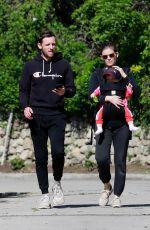 KATE MARA and Jamie Bell Out in Los Feliz 03/30/2020
