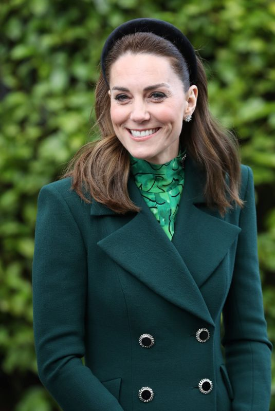 KATE MIDDLETON at Her Royal Visit in Dublin 03/03/2020