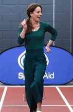 KATE MIDDLETON at Sportsaid Event in London 02/26/2020