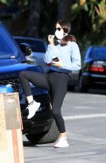 KATHARINE MCPHEE with Mask Out in Los Angeles 03/27/2020