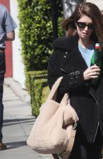 KATHERINE SCHWARZENEGGER Out and About in Beverly Hills 03/04/2020