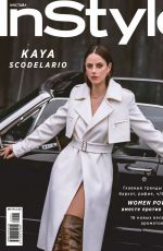 KAYA SCODELARIO in Instyle Magazine, Russia March 2020 Issue