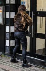 KELLY BROOK Arrives at Global Radio in London 03/19/2020