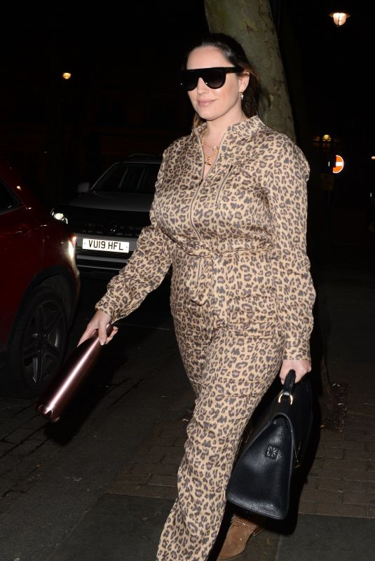 KELLY BROOK Night Out in London 03/16/2020