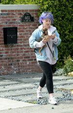 KELLY OSBOURNE Leaves Her Brother