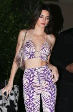 KENDALL JENNER at Western-themed Party in Santa Monica 03/05/2020