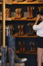 KENDALL JENNER Shopping at Boot Star in West Hollywood 03/05/2020