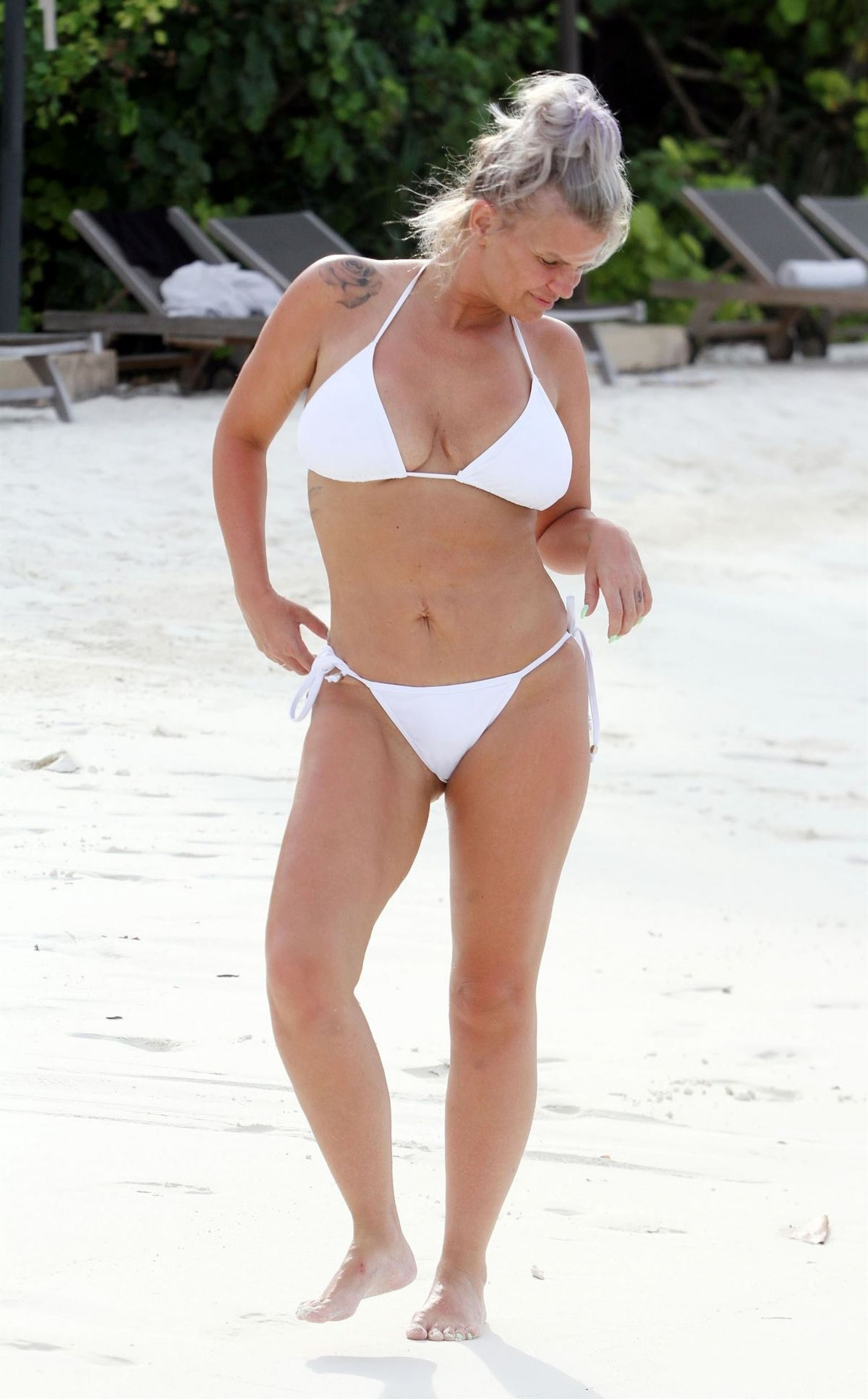 KERRY KATONA in Bikini on the Beach in Maldives 03/17/2020 – HawtCelebs