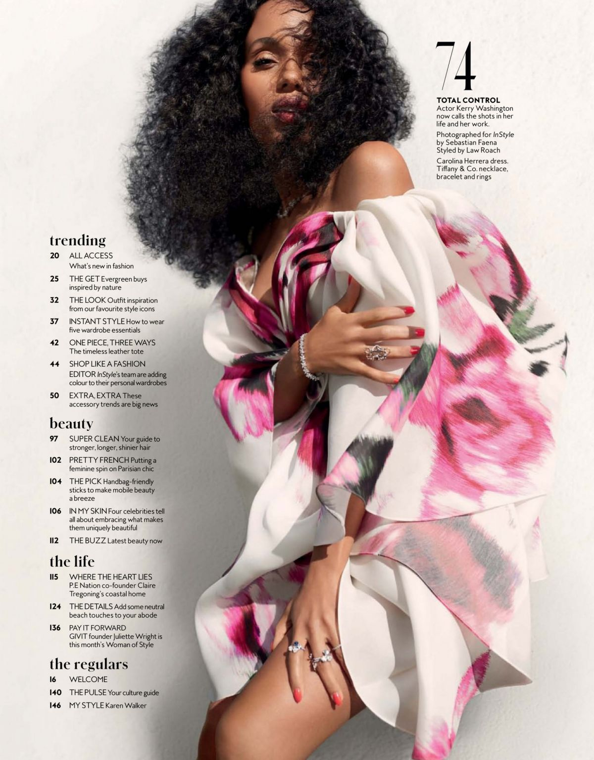 Kerry Washington Looks Back At Her Past InStyle Covers