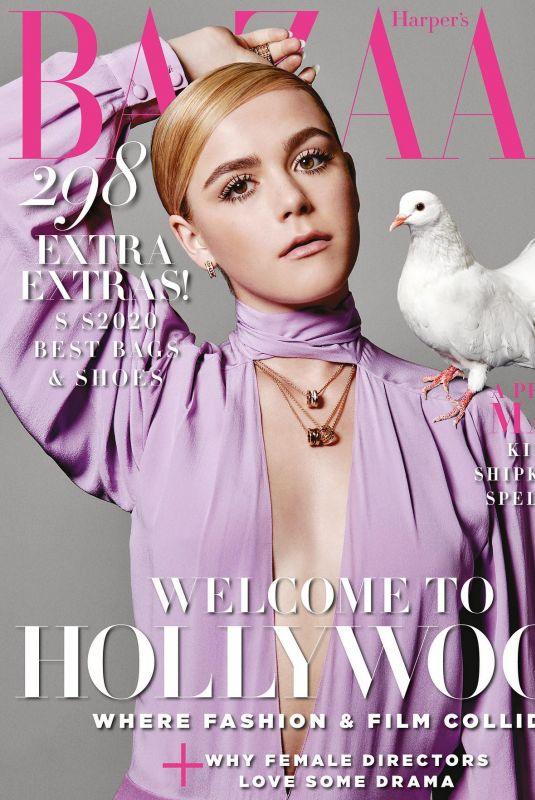 KIERNAN SHIPKA on the Cover of Harper's Bazaar Magazine, Singapore April 2020