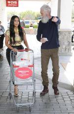 KIM KARDASHIAN and David Letterman Shopping at CVS in Calabasas 03/05/2020