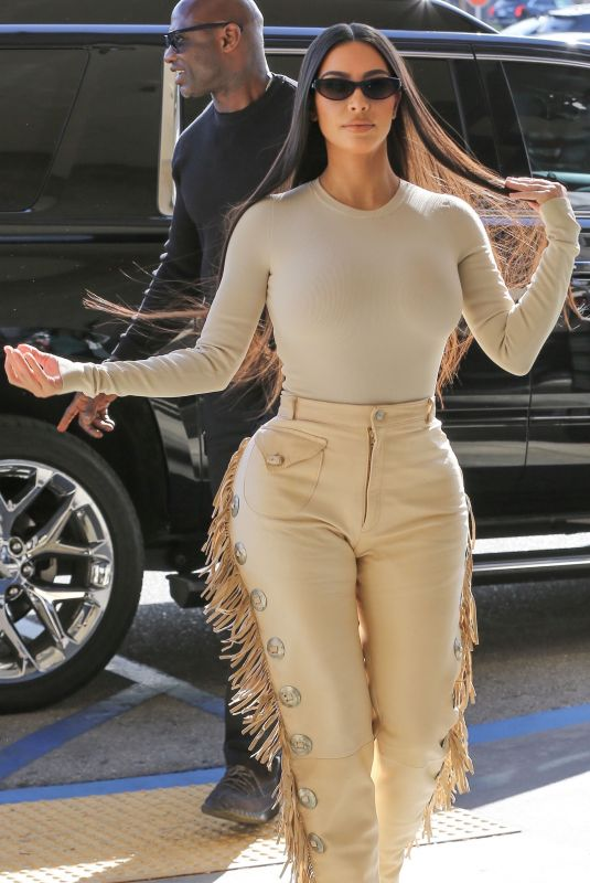KIM KARDASHIAN at Nordstrom in Woodland Hills 03/06/2020