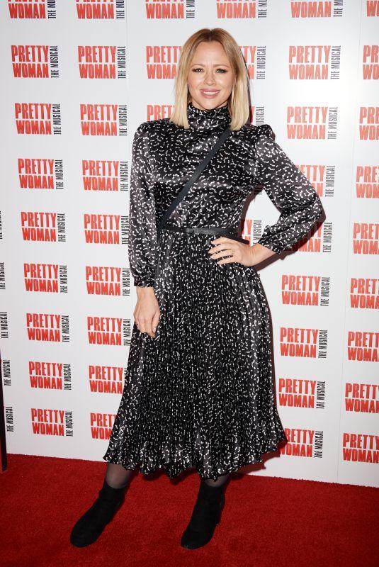 KIMBERLEY WALSH at Pretty Women Press Night in London 03/02/2020