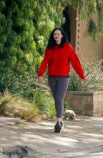 KRYSTEN RITTER Out Hiking in Los Angeles 03/17/2020