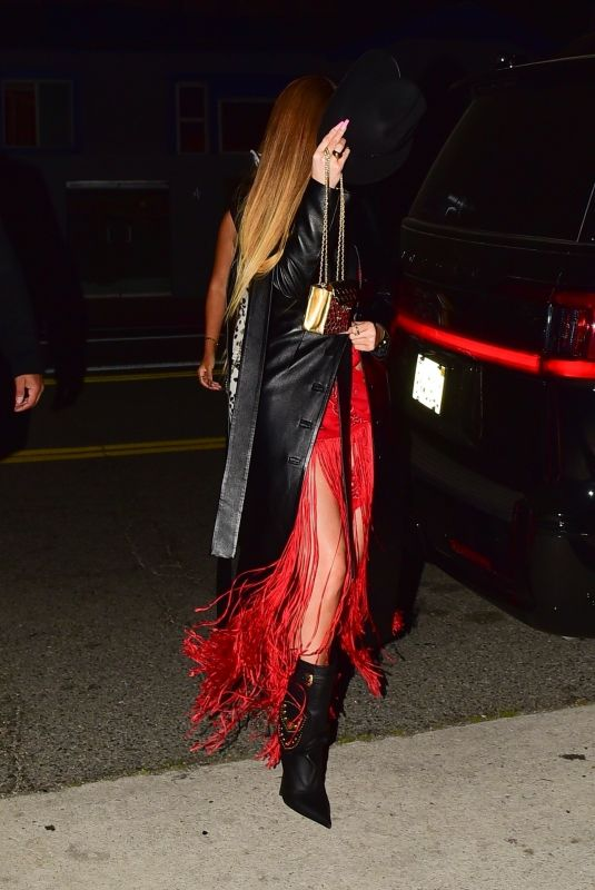 KYLIE JENNER at Western-themed Party at Shorebar in Santa Monica 03/05/2020