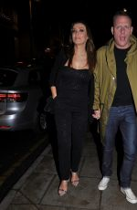 KYM MARSH and Antony Cotton at Rosso Restaurant in Manchester 03/07/2020