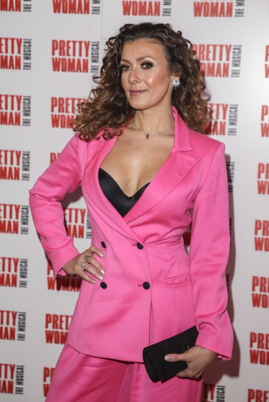 KYM MARSH at Pretty Women Press Night in London 03/02/2020
