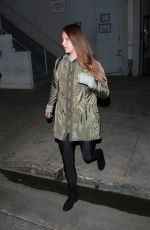 LANA DEL REY Arrives at Church Service in Beverly Hills 03/11/2020