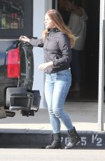 LANA DEL REY Out and About in Los Angeles 03/19/2020