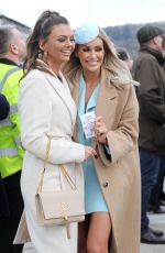 LAURA ANDERSON at Cheltenham Festival in Gloucestershire 03/10/2020