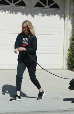 LAURA DERN Out with Her Dogs in Los Angeles 03/21/2020