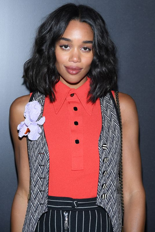 LAURA HARRIER at Louis Vuitton Show at Paris Fashion Week 03/03/2020