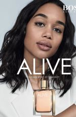 LAURA HARRIER, CHLOE BENNET, BRUNA MARQUEZINE and EMMA ROBERTS - Faces of the Alive Fragrance by Boss #feelalive