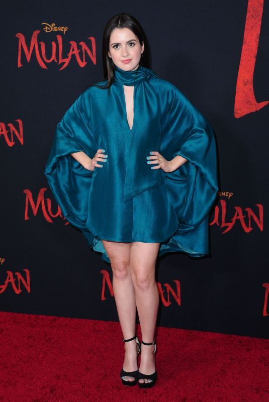 LAURA MARANO at Mulan Premiere in Hollywood 03/09/2020