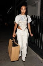 LEIGH-ANNE PINNOCK Leaves #ownthetable Event in London 03/10/2020